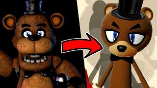 vuclip Creating FIVE NIGHTS AT FREDDY'S characters in SONIC FORCES