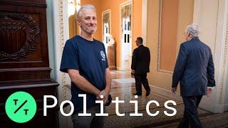 John Stewart Hails Senate Extension of 9/11 Victims Fund