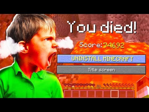 THIS FAN MADE ME RAGE QUIT MINECRAFT.