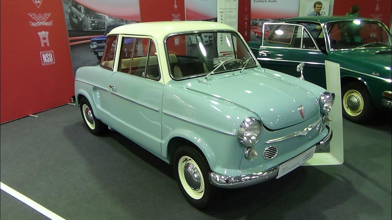 1961 nsu prinz 3 exterior and interior techno classica