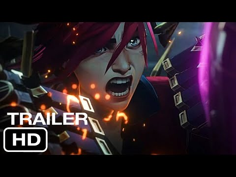 ARCANE Teaser (2021 Movie) Trailer HD | TV Series-Animation Movie HD | Netflix Film