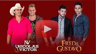 Nicolas & Victor - Parceiros do Coração Part. Fred & Gustavo (Lyric Vídeo Oficial)