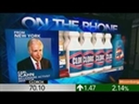 Carl Icahn Says Clorox Can't `Argue' About Latest Offer