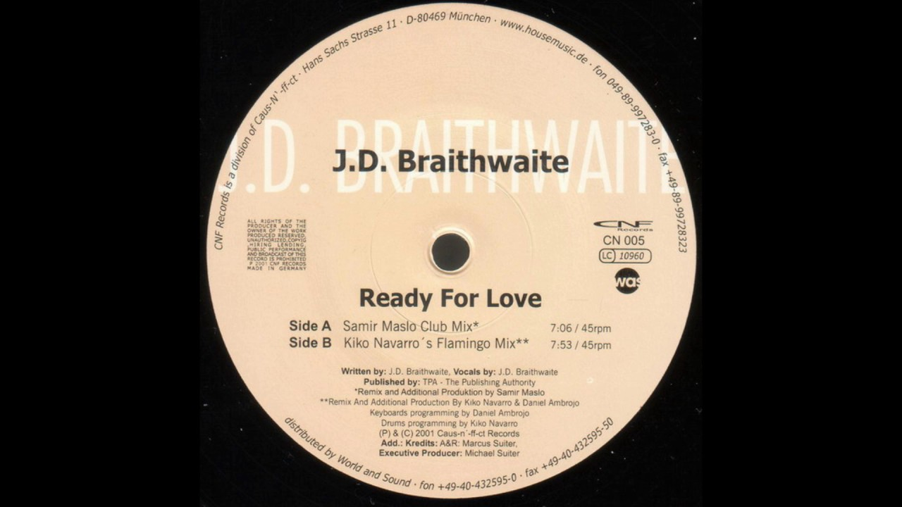 J.D. Braithwaite - The Music