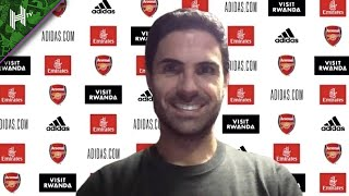 Aubameyang is a magician - he will stay for many years | Arsenal 4-0 Norwich Arteta press conference