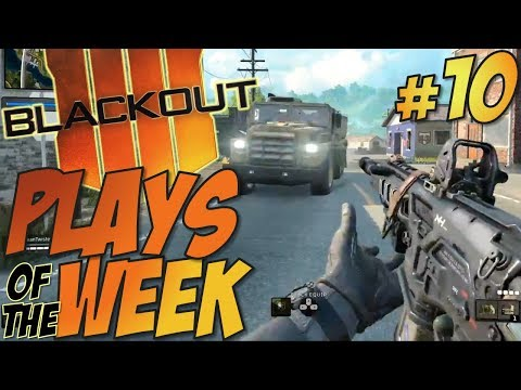 Call of Duty: Black Ops 4 - BLACKOUT Top 10 Kills Of The Week 10 #CODTopPlays