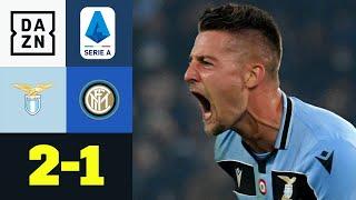 Big Point im Meisterrennen! Lazio lässt Young & Co. alt aussehen: Lazio - Inter 2:1   Serie A   DAZN