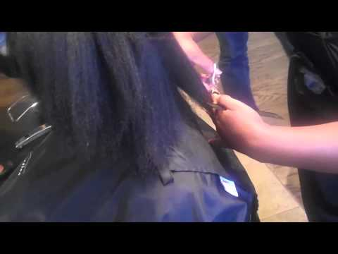 Stylist Robin Groover at Too Groovy Salon - Huetiful Hair Idol Rock Star Experience Part 2