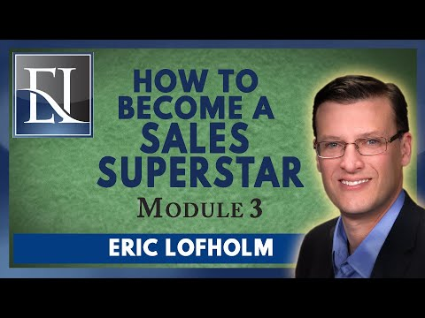 How To Become A Sales Superstar - Module 3