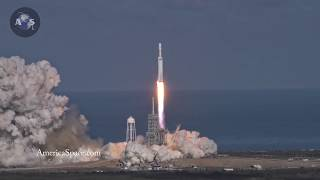 4K FALCON HEAVY LAUNCH FROM VAB ROOF