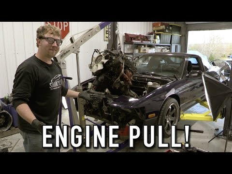 Now The Real Fun Can Begin! (RB25 Swap Pt.1):  240SX Restomod Ep.25