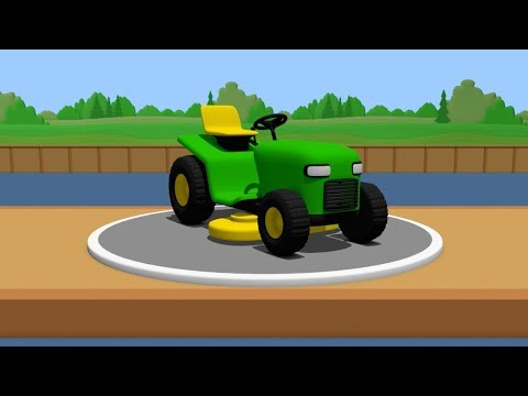 Building And Testing Lawn Mower - Cartoon For Kids