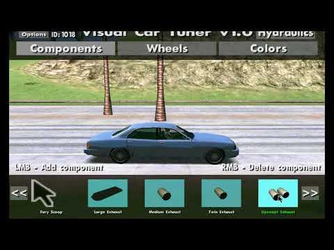 Kako imati  Visual Car Tuner  u GTA San Andreas