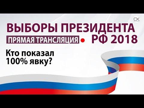 Выборы-2018. Кто показал 100% явку?