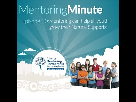 (Webinar) Mentoring can help all youth grow their Natural Supports