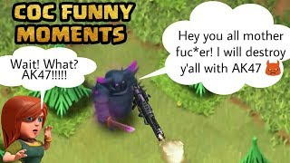 CLASH OF CLANS FUNNY MOMENTS, GLITCHES,TROLL,FUNNY FAILS 2017