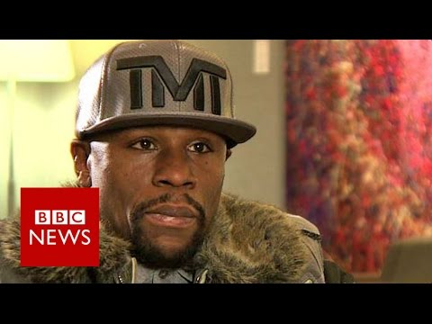 'I am best boxer ever' Floyd Mayweather Jr - BBC News
