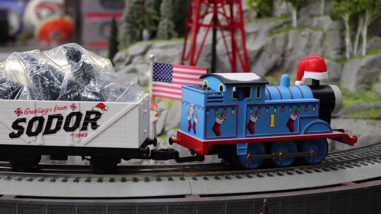 Thomas The Train Christmas Set.Lionel 6 83512 Thomas Christmas Freight Lionchief Set