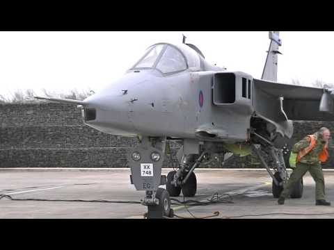 Marshalling test of saudi in cosford