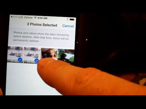 how to delete photo library on iphone 5 easy