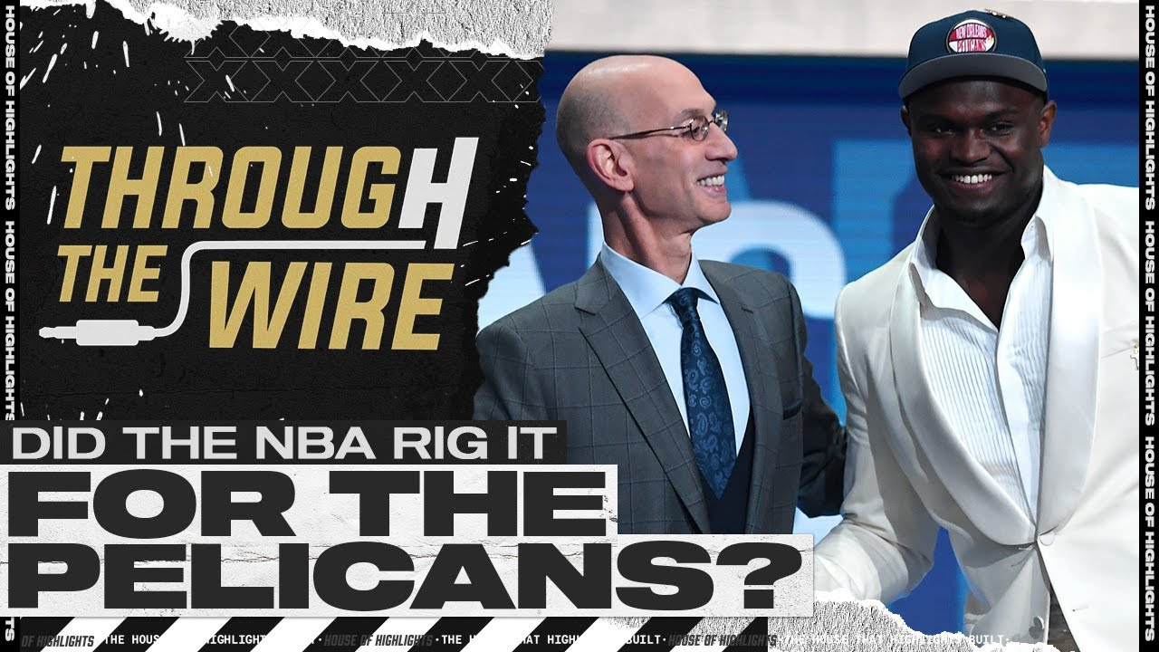 Did The NBA Rig It For The Pelicans? | Through The Wire Podcast