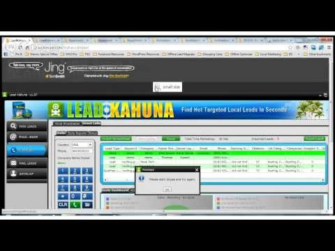 Lead Kahuna Auto-Dialer Using Java & Skype
