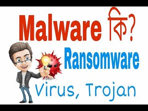 (Bengali)What is Malware? Virus, Ransamware, SpyWare ,Trojan, warms   Explain in bengali