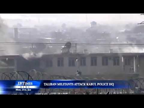 Taliban militants attack Kabul Police HQ