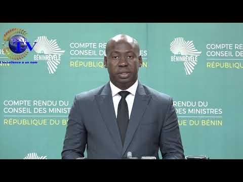 COMPTE RENDU DU CONSEIL DES MINISTRES DU JEUDI 02 MAI 2019  AU BENIN