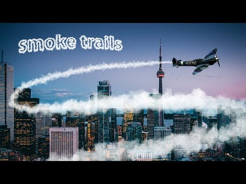 How to Create a Jet / Smoke Trails in Photoshop