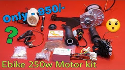 Ebike 250W Motor Electric Bicycle Kit with accessories Only 950/-