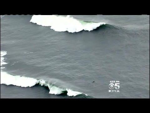 Surfers Rescued From Ocean Beach In San Francisco