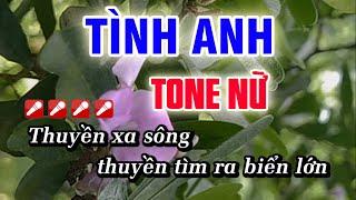 Download Karaoke Tình Anh - Tone Nữ - Nhạc Sống Huỳnh Như