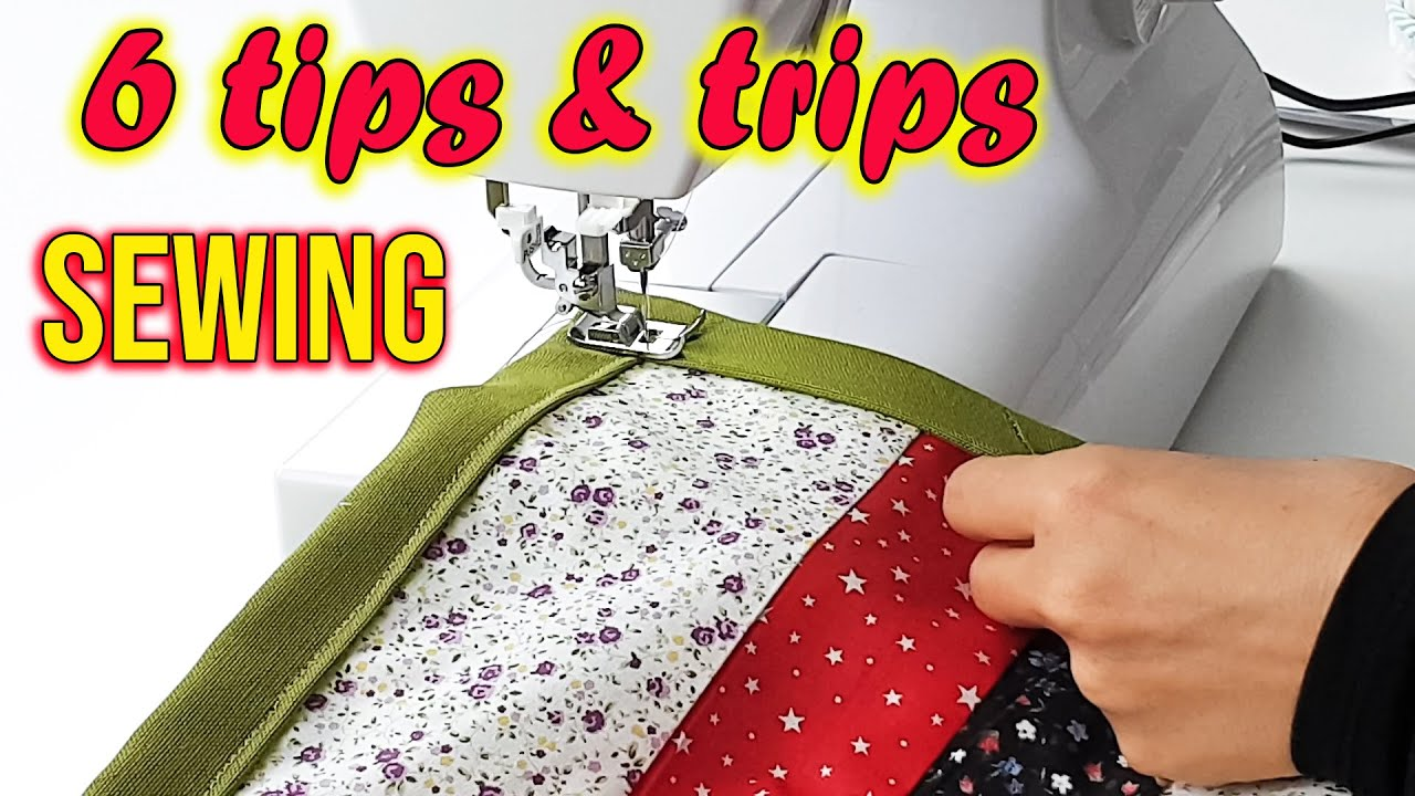 EASY SEWING TECHNIQUES FOR BEGINNERS / 7 Sewing Tips and Tricks / How To Sew Corners / Corner Stitch