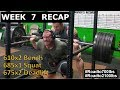 James Strickland - Full Power Training (Road to 2100 lbs - Week 7 Recap)