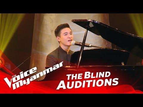 "Jubilee Tun: ""The Prayer"" - Blind Audition - The Voice Myanmar 2018"