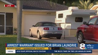 Search continues for Brian Laundrie as FBI issue arrest warrant for fiancé of Gabby Petito