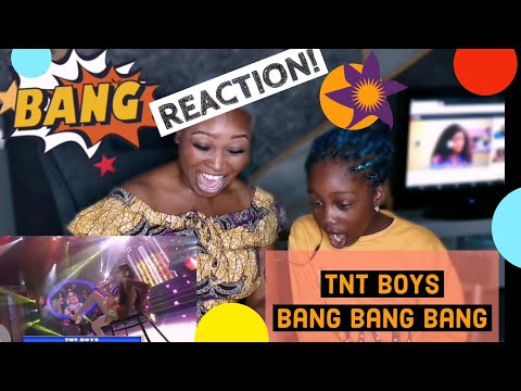 TNT BOYS Your Face Sounds Familiar- Bang Bang Bang REACTION Video With 8year Old