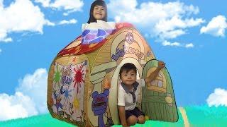 ディズニーおもちゃ ミッキーおうち ボールハウス 遊びと知育の おうち トゥーンタウン おままごと Disney Toontown  Ball House thumbnail