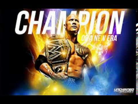 "WWE The Rock custom Theme song 2015 "" People's Champion"""