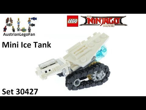 Lego Ninjago Movie 30427 Ice Tank - Lego Speed Build Review