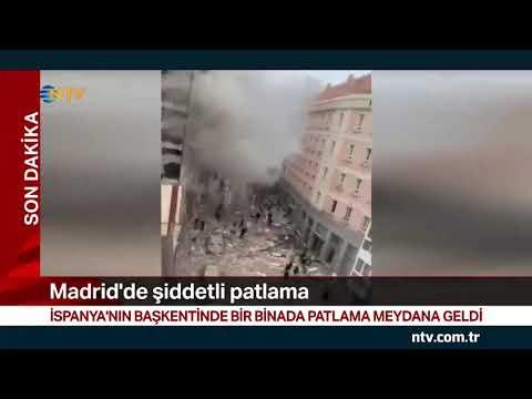 NTV | İspanya'nın başkenti Madrid'de patlama