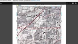 SHTF Resource: Free Topographic Maps