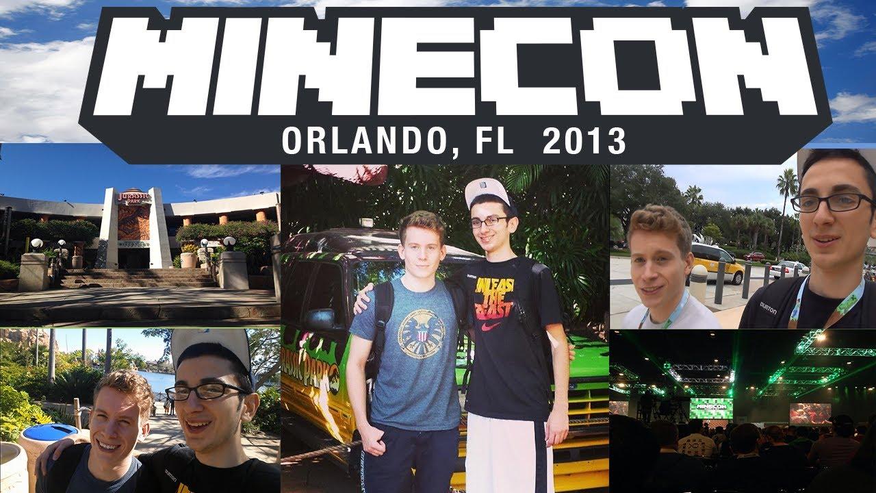 Minecon 2013 vlog theatlanticcraft cody and joe meet for The atlantic craft minecraft