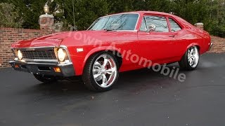 1968 Chevy II Nova Torch Red for sale Old Town Automobile in Maryland