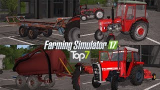 TOP7 NAJLEPSZYCH MODYFIKACJI TYGODNIA Farming Simulator 17