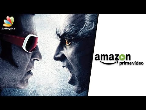 2.0 Online Streaming rights sold for HUGE amount | Shankar, Rajinikanth Movie on Amazon Prime