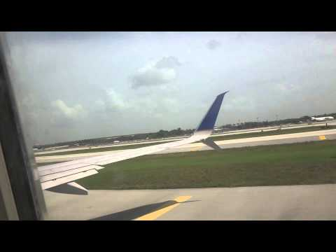 United Airlines UA 1290 - Fort Lauderdale (FLL) → Chicago O'Hare (ORD)(7/6/2015)