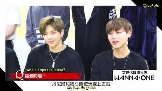 Video [ENG SUBS] 241017 Warner Music Taiwan x Wanna One Interview (II) download MP3, 3GP, MP4, WEBM, AVI, FLV September 2018
