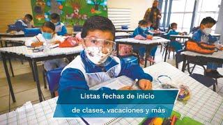 Consulta las fechas del inicio de clases, las vacaciones, inscripciones y de Consejo Técnico de educación básica